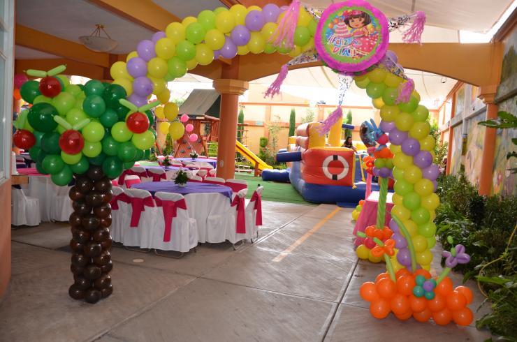 Chikids jardin de eventos infantiles en cuautitlan for Imagenes de jardines para fiestas