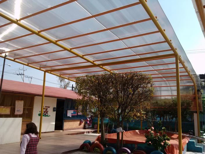 Remza laminas y techados en nezahualcoyotl tel fono y m s for Tejabanes para terrazas