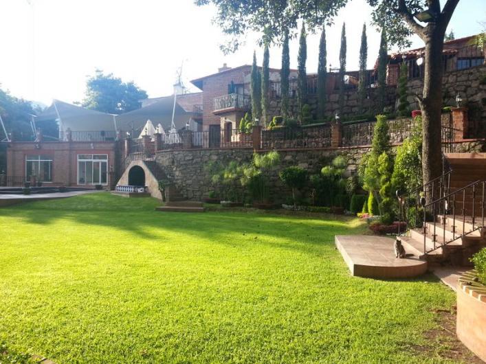 Hacienda de la Condesa jardin de eventos en ATIZAPAN
