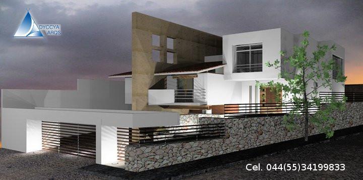 Dyccya arquitectos en cuauhtemoc tel fono y m s info for Diseno de interiores de casas modernas minimalistas