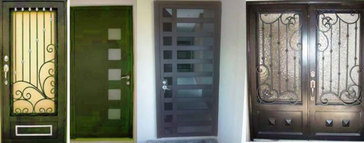 Puertas y portones dominguez en reynosa tel fono y m s info for Puertas para exteriores economicas