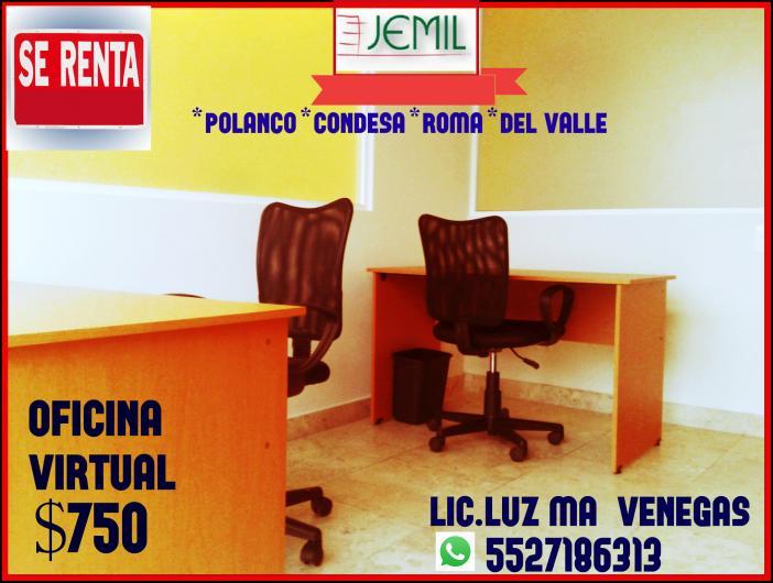 Jemil oficinas virtuales y amuebladas en cuauhtemoc for Oficina virtual telefono