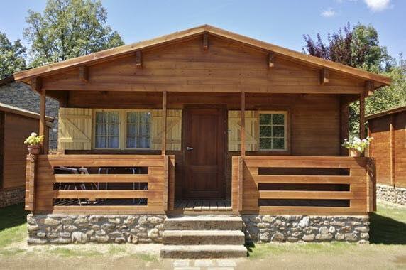 Caba as 100 de madera en san luis potosi tel fono y m s - Cabanas de madera los pinos ...