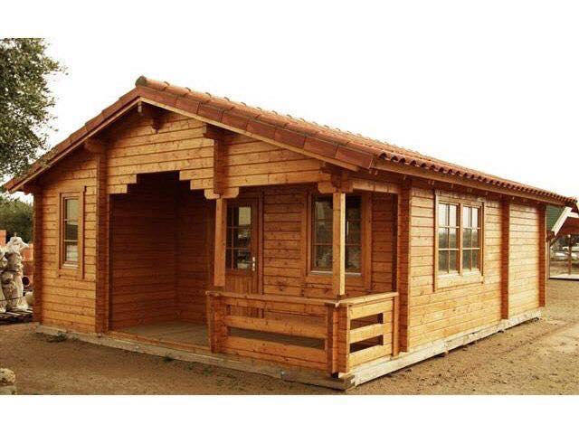 Caba as 100 de madera en san luis potosi tel fono y m s - Opiniones casas de madera ...